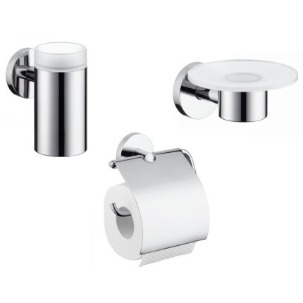 Set accesorii baie Hansgrohe Logis 3 piese
