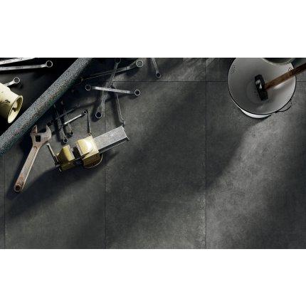Gresie portelanata rectificata Diesel living Hard Leather 60x30cm, 9mm, Moss