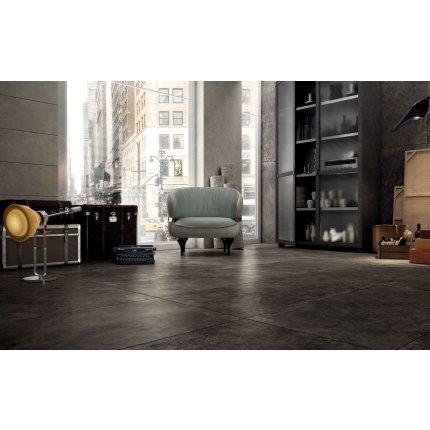 Gresie portelanata rectificata Diesel living Hard Leather 60x30cm, 9mm, Tobacco