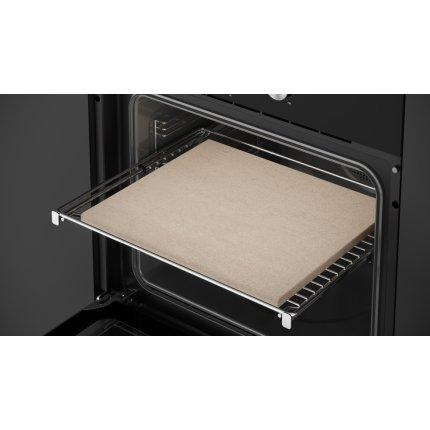 Cuptor incorporabil Teka MaestroPizza HLB 8510 P, 70 litri, 8 functii, Piroliza & HydroClean® PRO, Pizza grill extra power, negru