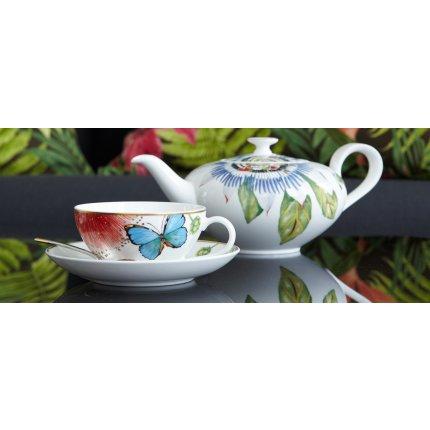 Vas servire ceai Villeroy & Boch Amazonia Anmut 6 persoane, 1 litru