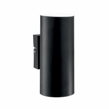 Aplica Ideal Lux Hot AP2, 2x28W, 8x18cm, negru