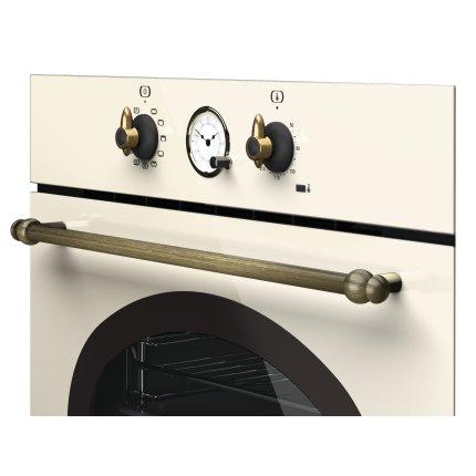 Cuptor electric incorporabil Teka HRB 6300 VN, 70 litri, multifunctional 9 functii, HydroClean, Clasa A+, Vanilla Rustic
