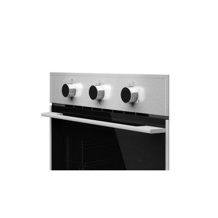 Cuptor gaz incorporabil Teka HSB 740 G, 60 litri, grill gaz, ventilator, Hydroclean, timer mecanic, inox antipata