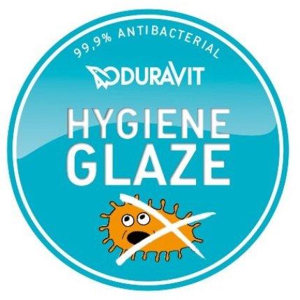 Vas WC suspendat Duravit Happy D.2 Hygiene Glaze