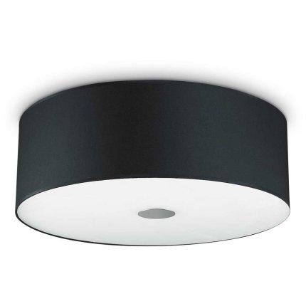 Aplica Ideal Lux Woody PL4, 4x60W E27, d50cm, negru