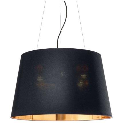 Suspensie Ideal Lux Nordik SP6, 6x60W E27, h43-252cm, negru mat