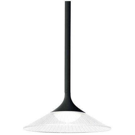 Suspensie Ideal Lux Tristan SP, LED 5W, h43-187cm, negru