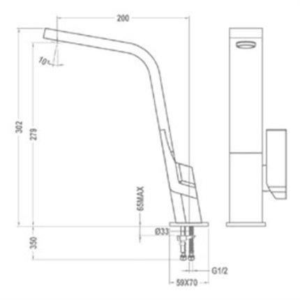 Baterie bucatarie Teka IC 915