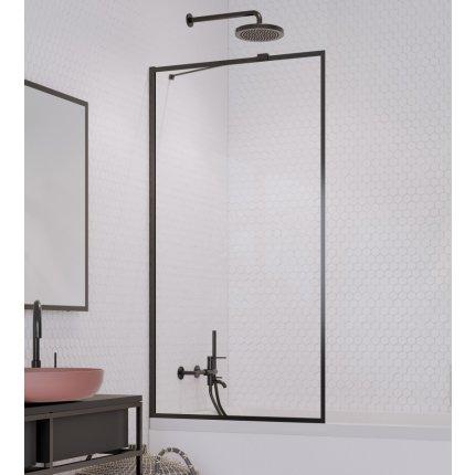 Paravan cada Radaway Idea Black Frame PNJ, un element fix, 60cm