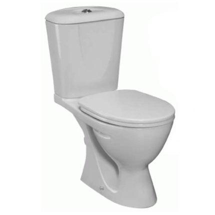 Set complet vas WC Ideal Standard Eurovit cu rezervor alimentare inferioara si capac