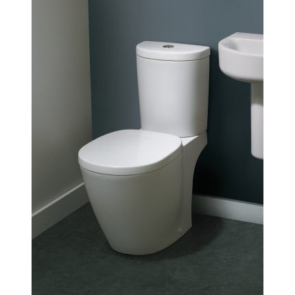 Set complet vas WC Ideal Standard Connect Arc cu rezervor si capac