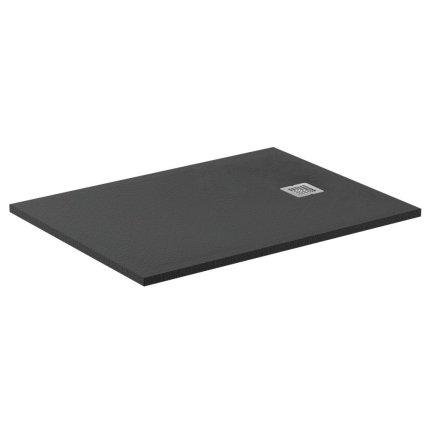 Cadita de dus dreptunghiulara Ideal Standard Ultra Flat S 120x90 cm Ideal Solid, negru