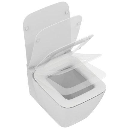 Vas WC suspendat Ideal Standard Strada II AquaBlade, fixare ascunsa