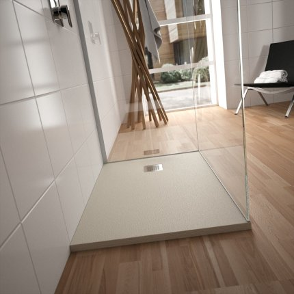 Cadita de dus joasa patrata Ideal Standard Ultra Flat S 90x90 cm Ideal Solid, pure white