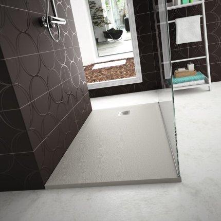 Cadita de dus joasa dreptunghiulara Ideal Standard Ultra Flat S 100x90 cm Ideal Solid, pure white