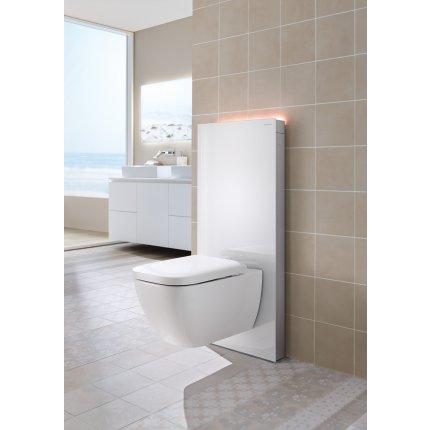 Rezervor wc Geberit Monolith Plus aparent pentru wc suspendat 114cm sticla alba
