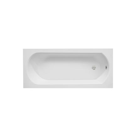 Cada baie rectangulara Besco Intrica 160x75cm, acril