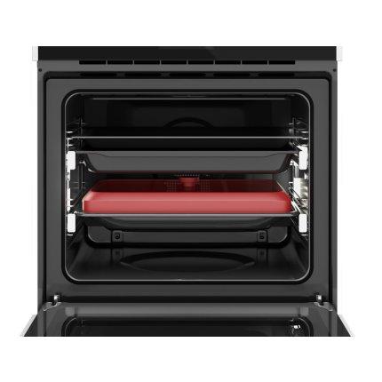 Cuptor electric incorporabil Teka iOVEN P cu piroliza, SurroundTemp - 18 functii, 70 litri, DualClean, maxi grill detasabil, Clasa A+, inox antipata - cristal negru