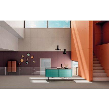 Gresie portelanata rectificata Diesel living Cement Mexican 60x30cm, 9mm, Rugged Orange
