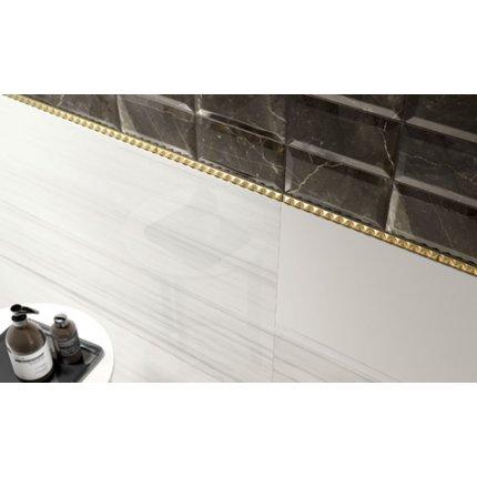 Gresie portelanata rectificata Iris Marmi 3.0 60x60cm, 9mm, Dolomiti White