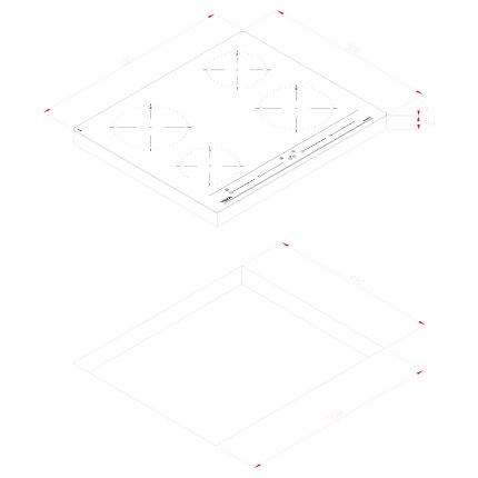 Plita inductie incorporabila Teka IZC 64010, 4 zone, 60cm, MultiSlider Touch Control, sticla neagra