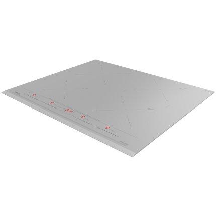 Plita inductie incorporabila Teka IZC 64630 cu 4 zone, 60cm, MultiSlider Touch Control, Steam Grey