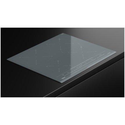 Plita inductie incorporabila Teka IZC 64630 cu 4 zone, 60cm, MultiSlider Touch Control, Stone Grey
