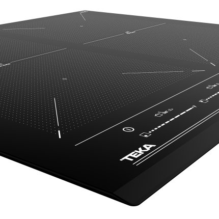 Plita inductie incorporabila Teka IZF 64600 BK MSP cu 4 zone, 60 cm, MultiSlider Touch Control, negru