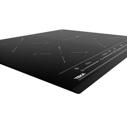 Plita inductie incorporabila Teka Space IZF 64440 cu 4 zone, 60 cm, MultiSlider PRO Touch Control, Teka Flex, negru