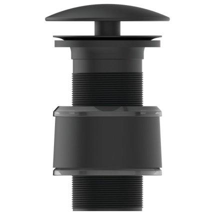 Ventil Ideal Standard pentru lavoare fara prea-plin, negru mat