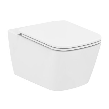 Vas suspendat WC Ideal Standard Mia Rimless 56 cm, pentru rezervor ingropat