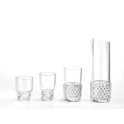 Pahar apa Kartell Jellies Family design Patricia Urquiola, d 8.5cm, h13cm, transparent