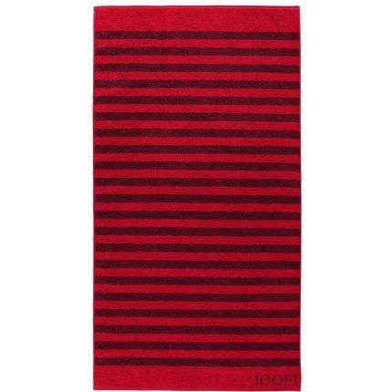 Prosop baie Joop! Classic Stripes 80x150 cm rubin