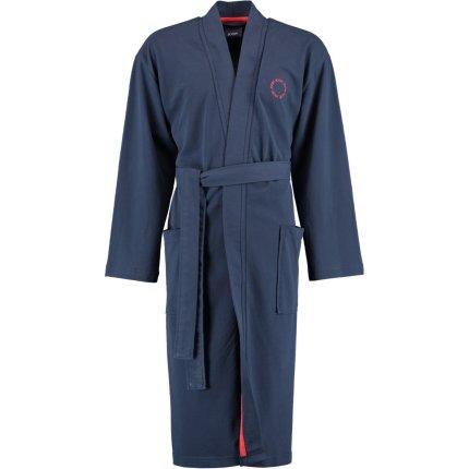 Halat de baie barbati Joop! 1655 tip kimono, L, 12 albastru marin