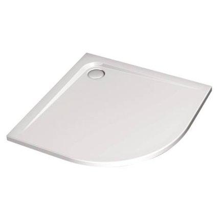 Cadita de dus asimetrica Ideal Standard Ultra Flat 75x95, versiune stanga