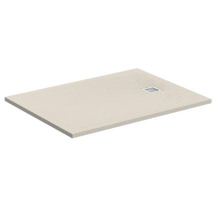 Cadita de dus joasa dreptunghiulara Ideal Standard Ultra Flat S 140x80 cm Ideal Solid, nisipiu