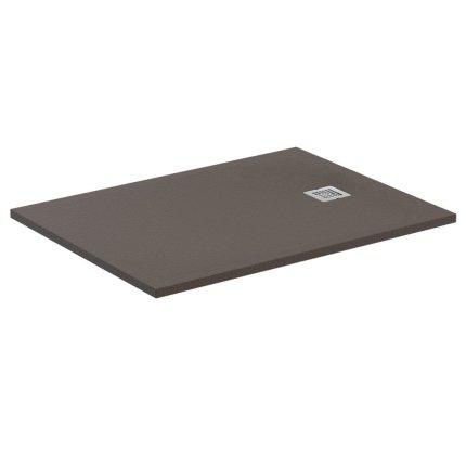 Cadita de dus joasa dreptunghiulara Ideal Standard Ultra Flat S 140x80 cm Ideal Solid, moka intens