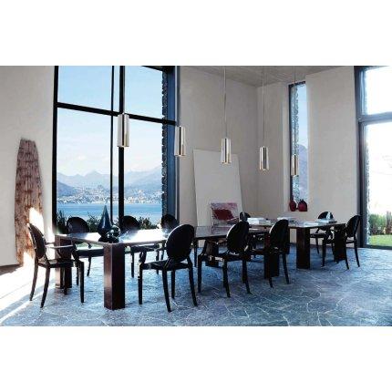 Suspensie Kartell Easy design Ferruccio Laviani, d13cm, gri