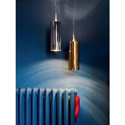 Suspensie Kartell Easy design Ferruccio Laviani, d13cm, crom metalizat