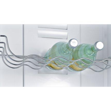 Combina frigorifica Bosch KGV58VL31S LowFrost, 505 litri, A++, usi inoxLook