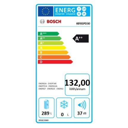 Frigider incorporabil Bosch KIF81PD30 Serie 8, 289 litri net, FreshSense, VitaFresh Pro, clasa A++