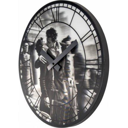 Ceas de perete NeXtime Kiss Me In Paris 39.5cm