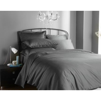 Lenjerie de pat Behrens Hotel Living 1000TC 260x220cm, 2 fete perna 50x75cm, platinum