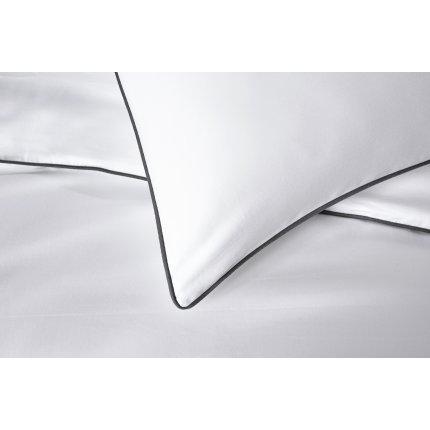 Lenjerie de pat Behrens Heritage 200x200cm, 2 fete perna 50x75cm, White-Grey