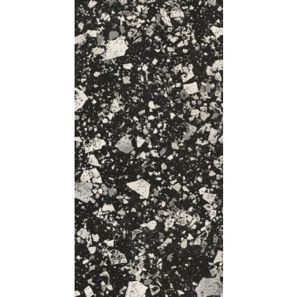 Gresie portelanata rectificata FMG Venice Villa 60x30cm, 10mm, Graphite Levigato