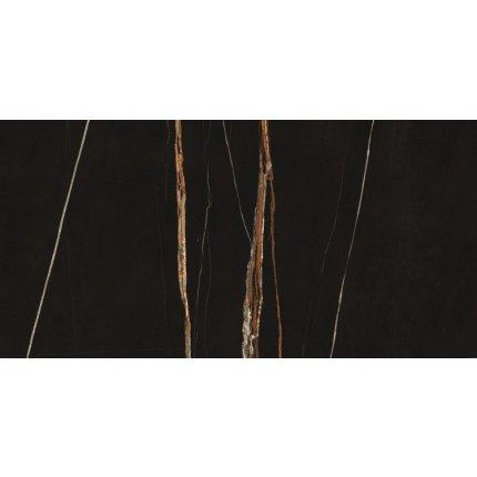 Gresie portelanata FMG Marmi Classici Maxfine 75x37.5cm, 6mm, Sahara Noir Lucidato