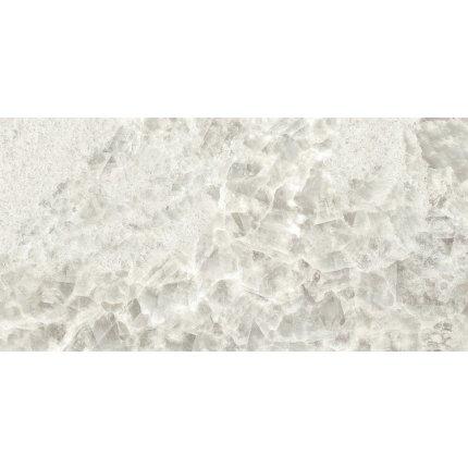 Gresie portelanata rectificata FMG Gemstone Maxfine 75x37.5cm, 6mm, Pearl Lucidato