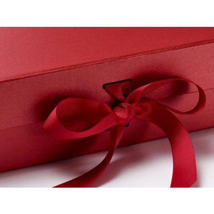 Cutie cadou Folda Large, inchidere magnetica si fundita, Pearl Red