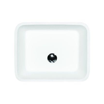 Lavoar pe pardoseala Besco Assos 41x52x85cm, alb